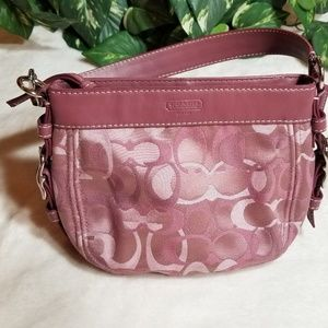 Coach purse canvas